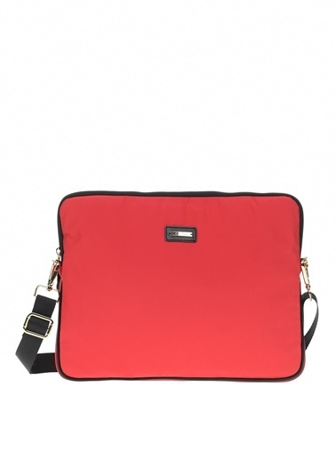 Cache The Bag Busy Laptop Case2001 (13-15 Inch Laptop, 12.9 Inch Ipad) Kırmızı